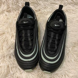 Nike Air Max 97 Authentic Black & Mint Green Shoes
